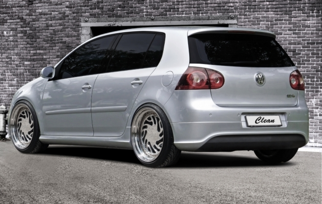 vw golf 5 abs heckansatz r32 hecksch rzen ansatz clean gti. Black Bedroom Furniture Sets. Home Design Ideas