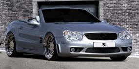 Mercedes SL W230 Black Edition Frontstoßstange