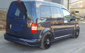 Heckstoßstange für VW Caddy Facelift R32 Clean Design