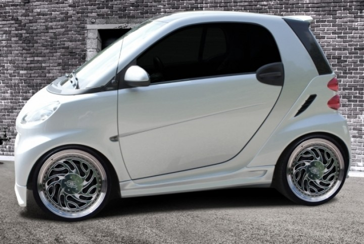 smart 451 abs seitenschweller set schweller sets carstyling cmc automotive. Black Bedroom Furniture Sets. Home Design Ideas