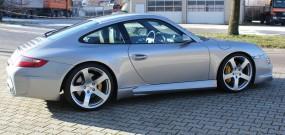 Porsche 997 Black Edition Seitenschweller