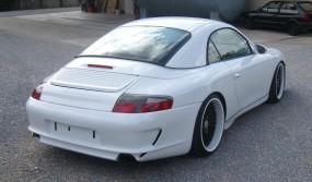 Porsche 996 Black Edition Heckstoßstange