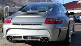 Porsche 997 MK1 Black Edition Heckstoßstange