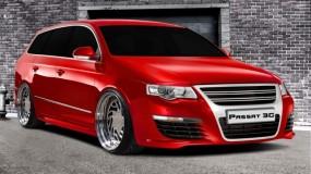 VW Passat 3C Scheinwerferblenden Set