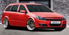 Opel Astra H Scheinwerferblenden Set