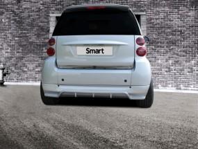 Heckansatz für Smart 451 For Two Diffusor Race Design
