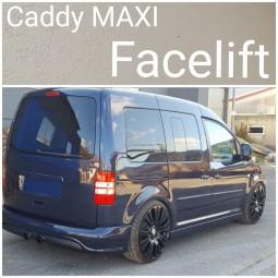 Heckstoßstange für VW Caddy MAXI Facelift R32 Design