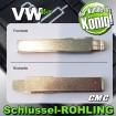 2x JOM Schlüsselrohlinge passend für VW 710022
