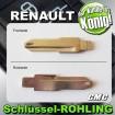2x JOM Schlüsselrohlinge passend für Renault 710004