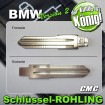 2x JOM Schlüsselrohlinge passend für BMW 710023