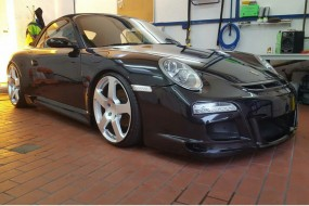 Porsche 997 MK 2 Facelift Black Edition Bodykit