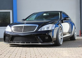 Mercedes S-Klasse Black Edition Frontstoßstange