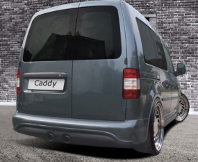 Caddy Street X ABS Heckstoßstange