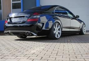 Mercedes S-Klasse Black Edition Heckstoßstange