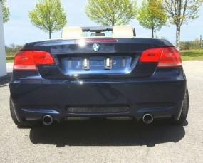 BMW E92 E93 335I Black Edition Heckstoßstange