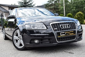 Audi A6 4F Scheinwerferblenden Set