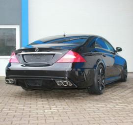 Heckstoßstange für Mercedes Benz CLS W219 AMG Black Edition