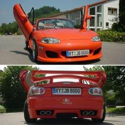 Bodykit für Mazda MX5 NBFL Race Design Facelift ABS TÜV
