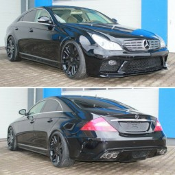 Bodykit für Mercedes Benz CLS W219 AMG Black Series Design