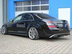 Seitenschweller für Mercedes Benz W221 Longversion AMG Black Series