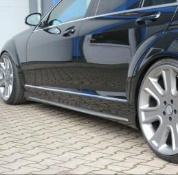 Seitenschweller für Mercedes Benz W221 Kurzversion AMG Black Series