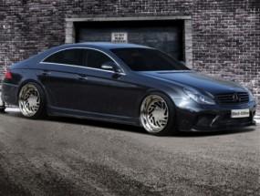 Seitenschweller für Mercedes Benz CLS W219 AMG Black Series