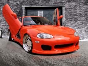 Frontstoßstange für Mazda MX5 NBFL Facelift Race Design
